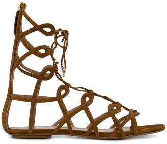 Aquazzura ankle length strappy sandals