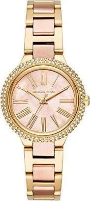 Michael Kors Women's Analogue Quartz Watch with Stainless Steel Strap MK6564