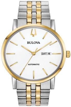 Bulova Men's Classic Automatic Two-Tone Bracelet Watch