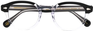 MOSCOT clear frame glasses