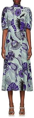Dries Van Noten Women's Floral Silk Dress