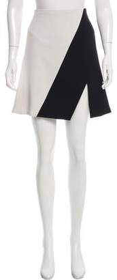 Narciso Rodriguez Contrast Mini Skirt