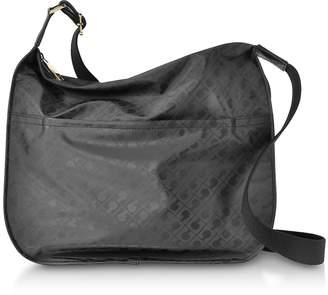 Gherardini Signature Coated Canvas Softy Shoulder Bag