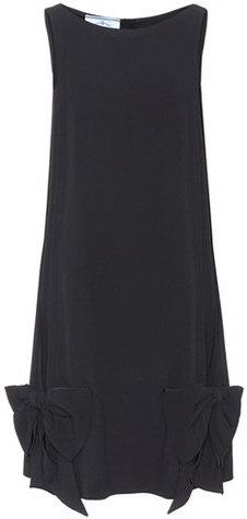 Prada Sleeveless crêpe dress