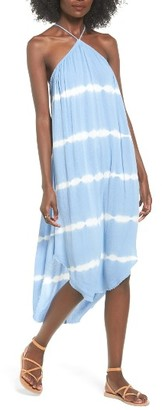 Women's Lush Tie Dye Halter Dress $55 thestylecure.com