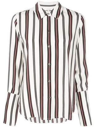 Frame PJ Striped Button Down Shirt