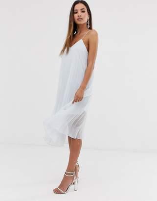 Vila pleated cami dress