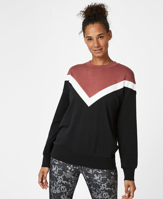 Sweaty Betty Colour Block Sweatshirt