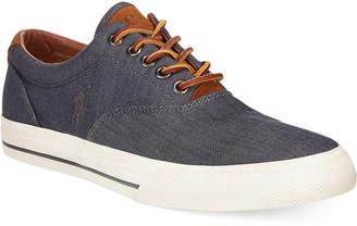 Polo Ralph Lauren Vaughn Chambray Herringbone Sneakers Men's Shoes