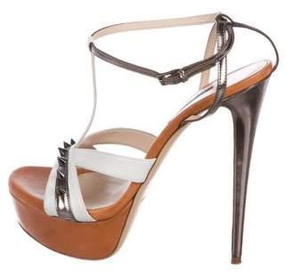 Ruthie Davis Spiked Platform Sandals