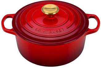 Le Creuset 4.5-Qt. Round Dutch Oven with Gold Knob