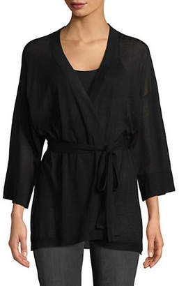 Autumn Cashmere Classic Cotton Kimono Wrap