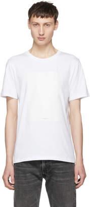 Maison Margiela White Leave A Message T-Shirt