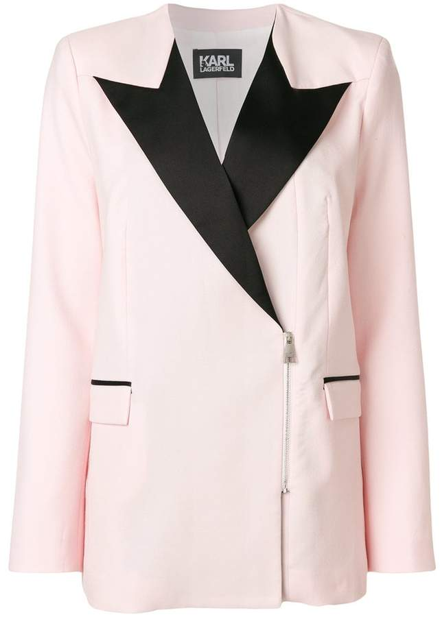 Karl Lagerfeld zipped Summer Blazer