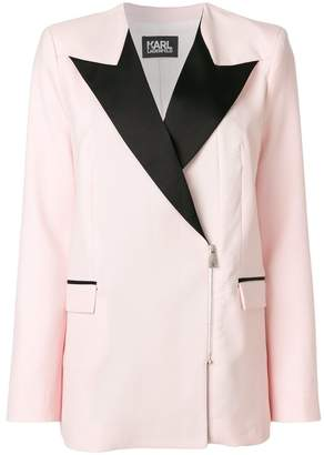 Karl Lagerfeld zipped Summer Blazer