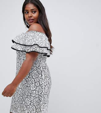 Bardot Lovedrobe lace dress