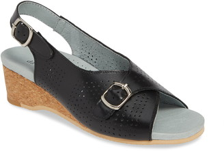 David Tate Noble Perforated Slingback Sandal