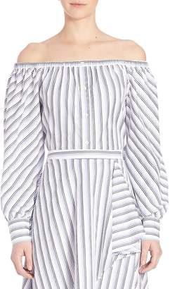 Elle Sasson Women's Leandrea Cotton Off-The-Shoulder Blouse