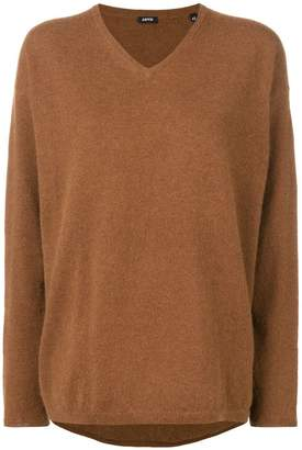 Aspesi v-neck loose knit sweater