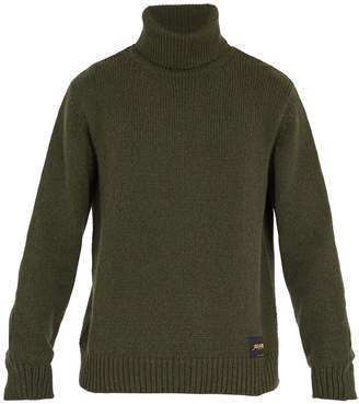 Stella McCartney Roll-neck cashmere-blend sweater