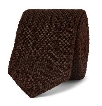 Ermenegildo Zegna 6cm Knitted Silk Tie