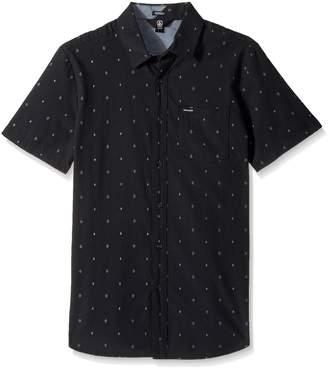 Volcom Men's Interlude Short Sleeve Shirt