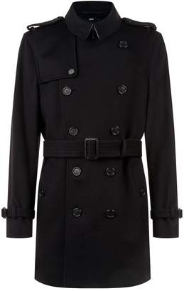 Burberry Wool Cashmere Trench Coat