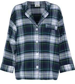 Sleepy Jones Checked Cotton-Flannel Pajama Shirt