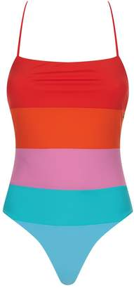 Mara Hoffman Olympia Rainbow Swimsuit