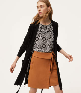 Belted Open Cardigan $69.50 thestylecure.com