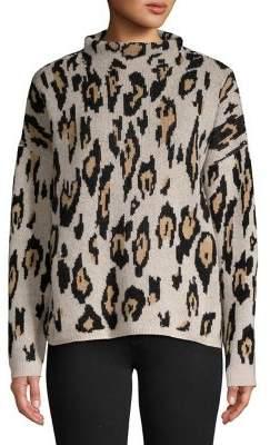 Ply Cashmere Leopard Cashmere Sweater