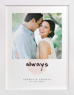 Always Custom Photo Art Print
