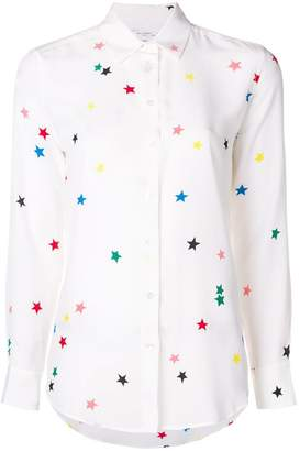 Equipment star embroidered shirt