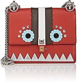 Fendi Women's Kan I Mini Shoulder Bag - Red
