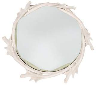 Arthur Court Vintage Faux Antler Wall Mirror