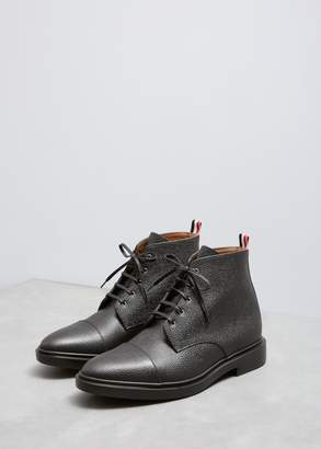 Thom Browne Cropped Derby Cap Toe Boot
