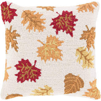 DECOR 140 Decor 140 Falling Leaves Throw Pillow Cover