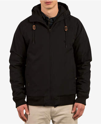 Volcom Men's Hernan Zip-Front Hooded Jacket