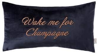 Ted Baker Wake Me for Champagne Velvet Accent Pillow