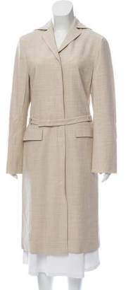 Philosophy di Alberta Ferretti Wool Blend Long Jacket