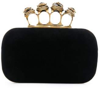 Alexander McQueen embellished clutch bag