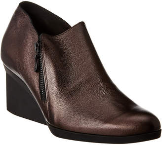 Arche Momali Leather Wedge Bootie
