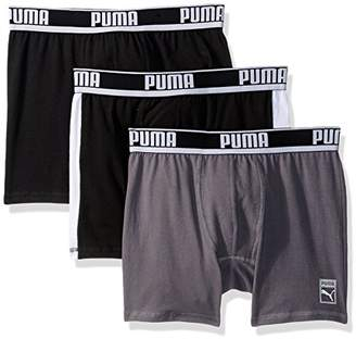 Puma Men's 3 Pack Heritage Cotton Boxer Brief