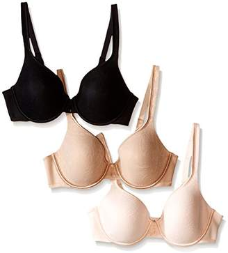 Vanity Fair Women's Body Caress Lace Full Coverage Underwire Bra 3 Pack 75340 $26.16 thestylecure.com