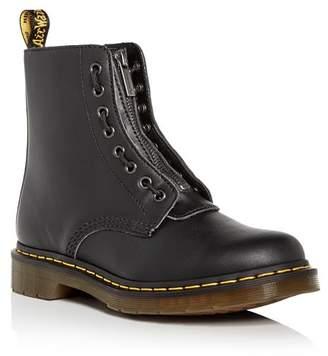 Dr. Martens Women's Pascal Double Zip Combat Boots