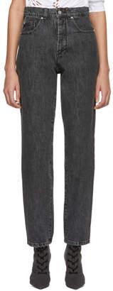 Misbhv Black High-Waist Jeans