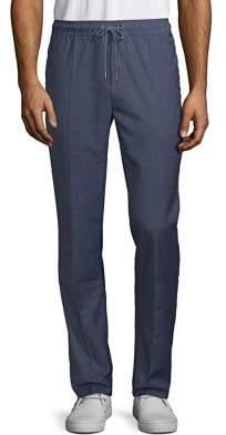 Black & Brown Black Brown Casual Drawstring Pants