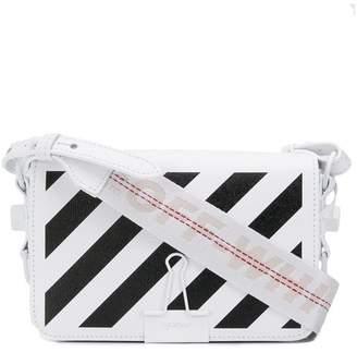 2c959098fe27 Off-White mini Diagonal Binder clip bag