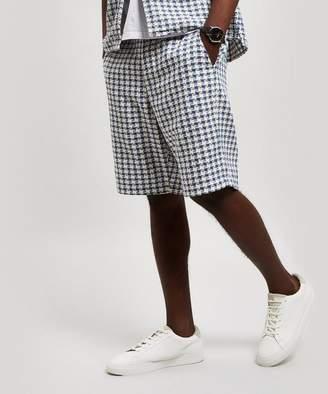 Oliver Spencer Drawstring Woven Cotton Shorts