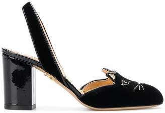 Charlotte Olympia cat pumps